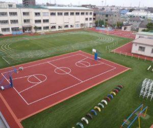 花畑第一小学校 平成26年10月竣工