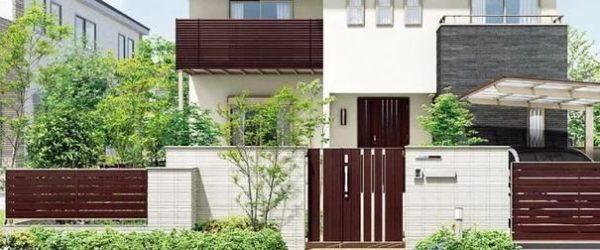 門まわりは住宅全体の外観イメージを左右する門まわりの中でも、特に顔となる重要な部分です。住宅の外観に合わせ、なおかつフェンスとの調和も保つような門扉をお選びいただくのがよいでしょう。