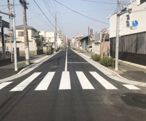 (花畑)道路維持工事工事課第6号 平成30年3月竣工