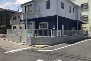 M邸ブロック塀改修工事 平成18年6月竣工