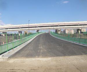 補助第258号線六町加平橋取付道路整備工事(その1)令和2年5月竣工