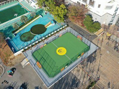 総合スポーツセンター公園スペシャル・クライフコート 令和2年10月竣工