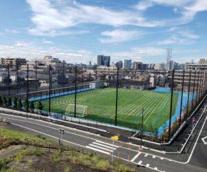 新田学園第二グラウンド 令和2年8月竣工