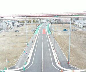 下水道管敷設工事及び街路築造工事(31-六町-12)   令和3年3月竣工