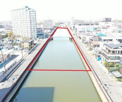花畑川環境整備その1工事