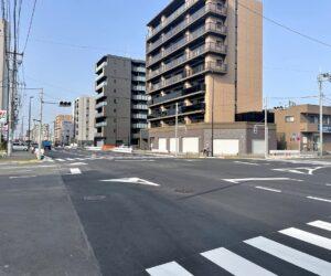 道路工事及び街路築造工事(31-六町-33)   令和3年3月竣工